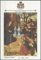 ORDEN VON MALTA 1994 Block Natale 1994 O Used - Malta (Orden Von)