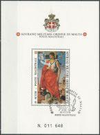 ORDEN VON MALTA 1994 Block O Used - Malta (Orden Von)