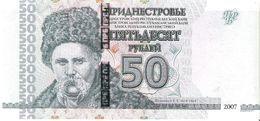 Transnistria - Pick 46b - 50 Rublei 2007 - 2012 - Unc - Banconote