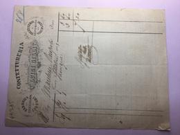 FIRENZE-1893-CONFETTURERIA- LUIGI GILLI-FABBRICA DI CIOCCOLATA E LIQUORI - Italia