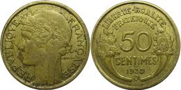 France - Troisième République - 50 Centimes 1939 B Morlon - G. 50 Centimes