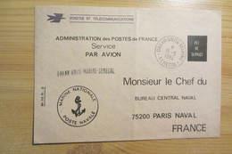Agence Postale Militaire De La Marine De DAKAR (Sénégal - 1984) - Postmark Collection (Covers)