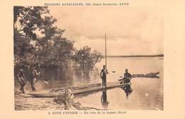 Afrique > Côte-d'Ivoire Un Coin De La Lagune Ebrié    Missions Africaines Lyon ( Mission Religion Lescuyer 3) - Côte-d'Ivoire