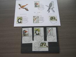 """BELG.1972 1652-55 Echophil Card N°0146 Plus Zegels MNH Met Ronde Eerste Dag Stempel Vogels Uit Het Natuurreservaat """"Het - Nuevos"""