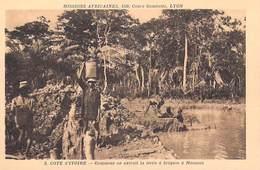 Afrique- Côte-d'Ivoire Comment On Extrait La Terre à Briques à Moousso -Missions Africaines Lyon (Religion Lescuyer 5) - Côte-d'Ivoire