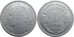 France - GPRF - 1 Franc 1944 C Morlon, Légère - H. 1 Franc