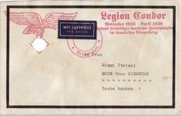 Legion Condor Verband Freiwilliger Deutscher Frontkämpfer Im Spanischen Bürgerkrieg - Deutschland