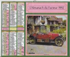 Almanach Du Facteur 1992 - Calendars