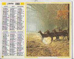 Almanach Du Facteur 1988 - Calendriers