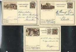 Série Complète N° 11  (19 Cartes Obl.) Soit 19 Cartes - Enteros Postales