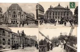 LOT 100 CPA PARIS - Petites Sélections - Animations - 100 - 499 Postcards