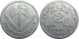 France - Etat Français - 2 Francs 1943 B Francisque - France