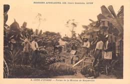 Afrique- Côte-d'Ivoire Ferme De La Mission De Bingerville  -Missions Africaines Lyon ( Religion Lescuyer 8) - Côte-d'Ivoire