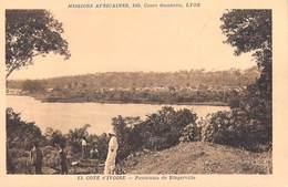 Afrique- Côte-d'Ivoire Panorama  De Bingerville  -Missions Africaines Lyon ( Mission Religion Lescuyer 13) - Côte-d'Ivoire