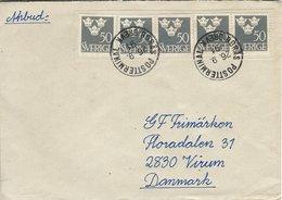 Sweden - Cover  Sent To Denmark    H-1351 - Sweden