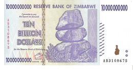Zimbabwe - Pick 85 - 10.000.000.000 (10000000000) Dollars 2008 - Unc - Zimbabwe