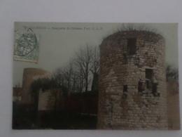 Dourdan  Remparts Du Chateau Fort - Dourdan