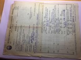 13-19-1925GATTINARA-NOVARA-STABILIMENTO METALLURGICO-AIMONE - Italia