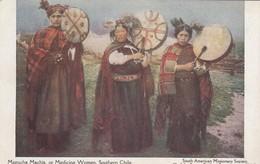 Mapuche Machis, Or Medicine Women - Southern Chile - Chili