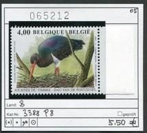 Buzin - Belgien - Belgique -  Belgium - Belgie - Michel 3439 (COB 3388) - ** Mnh Neuf Postfris - Schwarzstorch - 1985-.. Vogels (Buzin)