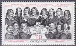 Timbre-poste Neuf** 350e Anniversaire Des Traités De Westphalie - N° 1811 (Yvert) - République Fédérale D'Allemagne 1998 - Unused Stamps