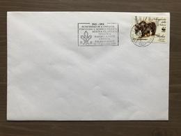 Busta Ufficiale 80 Anni Di Scoutismo In Campania Targhetta Postale Caserta 16/17-11-1991 - Scoutismo