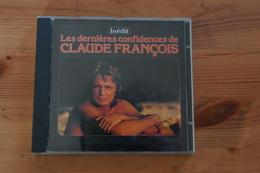 LES DERNIERES CONFIDENCES DE CLAUDE FRANCOIS RARE CD - Musique & Instruments