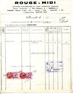13.MARSEILLE.QUOTIDIEN D'INFORMATION DU PARTI COMMUNISTE FRANÇAIS 2 RUE BRETEUIL . - Imprimerie & Papeterie