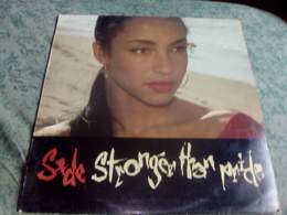 """SADE """"Stronger Than Pride"""" - Disco & Pop"""