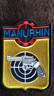ECUSSON TISSU MANURHIN FABRIQUE D ARMES TIR  MUNITIONS HAUT RHIN  VOIR AUTRES MODELES DANS MA BOUTIQUE ET CELLE ULTIMA31 - Patches