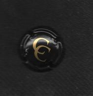 CAPSULE CHAMPAGNE/ Christian COQUET Texte OR Sur Fond Noir // ECLAT !!! - Champagne