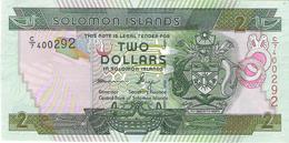 Solomon Islands - Pick 25 - 2 Dollars 2004 - Unc - Isola Salomon