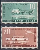 ETAT RHENO-PALATIN N°48 Et 49 N** - Französische Zone
