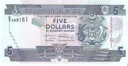 Solomon Islands - Pick 26 - 5 Dollars 2009 - Unc - Isola Salomon
