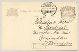 Nederlands Indië - 1928 - Propaganda Stempel Jaarbeurs Bandoeng Op Cover Van Bandoeng Naar Weltevreden - Nederlands-Indië