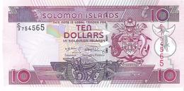 Solomon Islands - Pick 27 - 10 Dollars 2009 - Unc - Isola Salomon