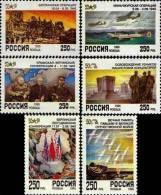 Russia 1995 50th Ann. Of Victory Stalin, Churchill, Roosevelt 6v MNH - Neufs