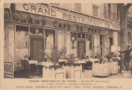 MANOSQUE             GRAND RESTAURANT DE PARIS - Manosque