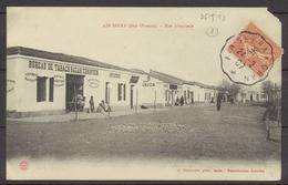 1907 CP OBL. AMBULANT AIN-SEFRAN à ORAN. RARE. C190 - Algérie (1924-1962)