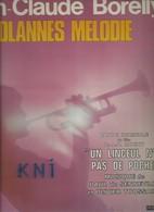 Vinyle  33T  ,   Jean -Claude Borelly Dolannes Mélodie 1975 - Soundtracks, Film Music