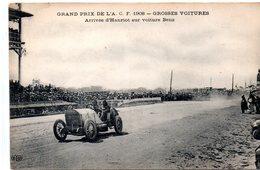Sport : Automobile : Grand Prix De L'ACF 1908: Hanriot Sur Voiture Benz - Motorsport