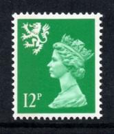 GREAT BRITAIN 1985 Scottish Machin Definitive 12p: Single Stamp UM/MNH - Scotland