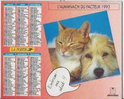 Almanach Du Facteur 1993 - Calendriers