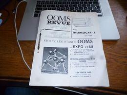 CB3F1  Ooms Revus Spécial Expo 58 Biscuiterie - Kranten