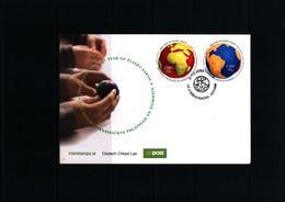 Ireland / Irland 2008 Year Of Planet Earh FDC - Umweltschutz Und Klima