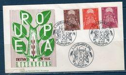 EUROPA-CEPT 1957 Giro 8 PAESI FDC - Europa-CEPT