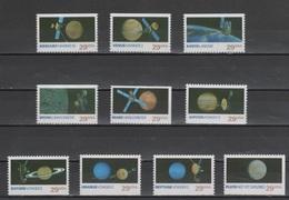 (S1891) USA, 1991 (Space Exploration). Complete Set. Mi ## 2183-2192. MNH** - United States
