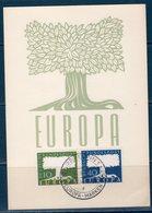 EUROPA-CEPT 1957 Germania -- Maximum - Europa-CEPT