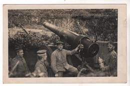 Nr.+ 212,  FOTO-AK, WK I, Nogent-I`Abbesse, 40 Jährige Ringkanone - Guerre 1914-18