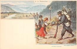 88 - VOSGES / Divers - 882525 - Très Belle Série De 8 Cartes Illustrées - Série A La Frontière - Autres Communes